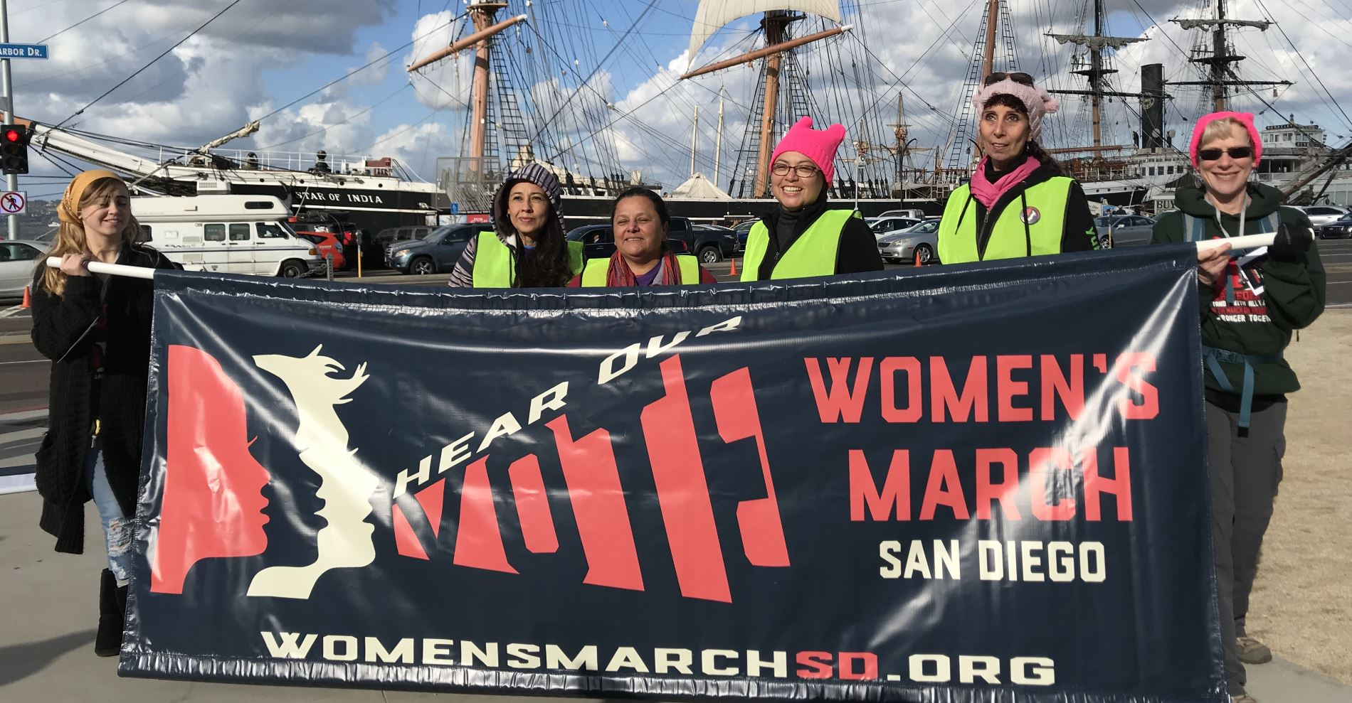 Hear Our Voice! At San Diego's Women's March