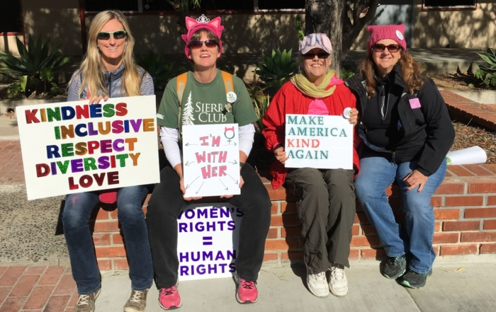North County San Diego Women's March at Palomar College