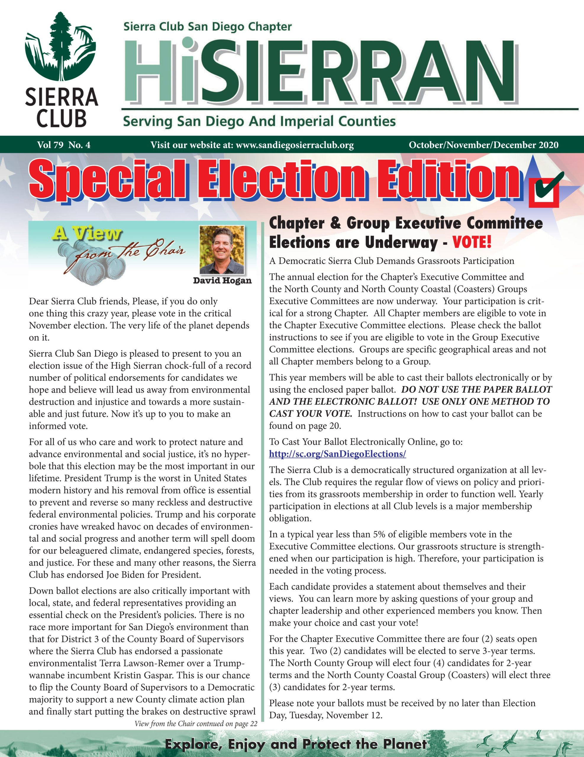 October-December 2020 Hi Sierran newsletter